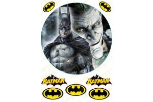 Вафельная картинка Бэтмен №3