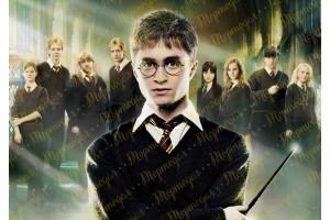 Съедобная картинка Гарри Поттер №3
