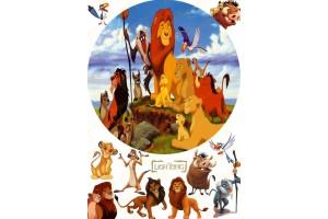 Вафельная картинка Король Лев №1