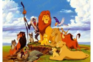 Вафельная картинка Король Лев №5