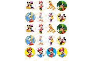 Картинка для маффинов и капкейков Микки Маус №1
