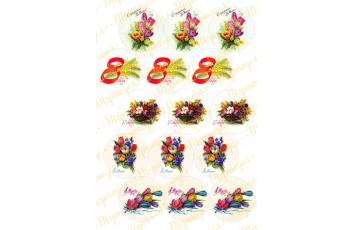 Картинка для маффинов и капкейков 8 Марта №10