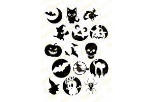 Картинка для маффинов и капкейков Хеллоуин №4