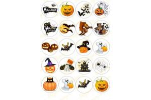 Картинка для маффинов и капкейков Хеллоуин №14