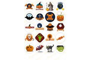 Картинка для маффинов и капкейков Хеллоуин №9