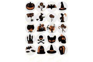 Картинка для маффинов и капкейков Хеллоуин №10