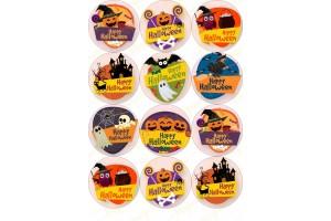 Картинка для маффинов и капкейков Хеллоуин №12