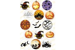 Картинка для маффинов и капкейков Хеллоуин №3