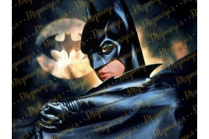 Съедобная картинка Бэтмэн №1