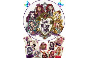 Съедобная картинка Ever After High №6