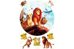 Вафельная картинка Король Лев №6
