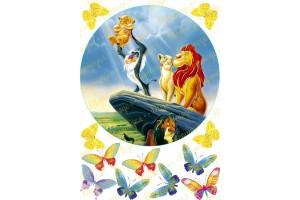 Вафельная картинка Король Лев №7