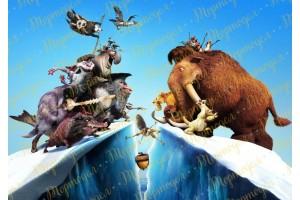 Вафельная картинка Ледниковый период №1