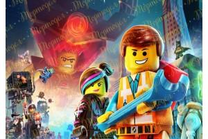 Съедобная картинка Лего №3