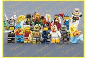 Съедобная картинка Lego №2