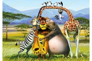 Съедобная картинка Мадагаскар №11