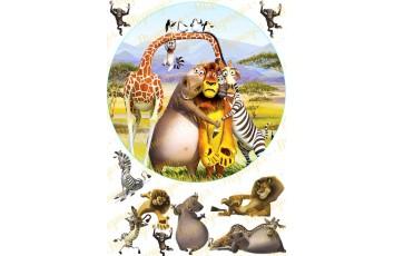 Съедобная картинка Мадагаскар №12