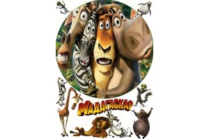 Съедобная картинка Мадагаскар №4
