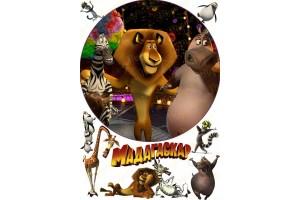 Съедобная картинка Мадагаскар №5