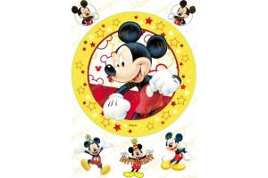 Съедобная картинка Микки Маус №4
