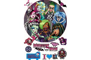 Съедобная картинка Монстер Хай №12 Monster High