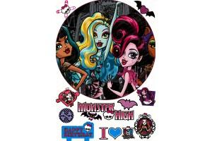 Съедобная картинка Монстер Хай №13 Monster High