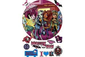 Съедобная картинка Монстер Хай №14 Monster High