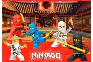 Съедобная картинка Ниндзяго №16