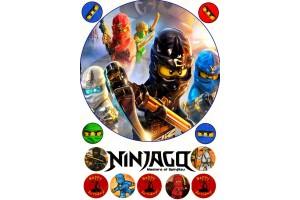 Съедобная картинка Ниндзяго №2 Ninjago