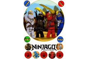 Съедобная картинка Ниндзяго №5 Ninjago
