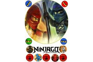Съедобная картинка Ниндзяго №6 Ninjago