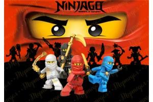 Съедобная картинка Ниндзяго №8 Ninjago
