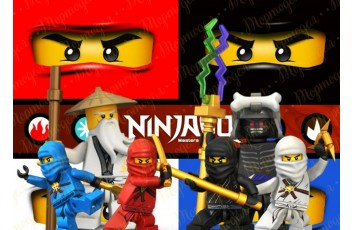 Съедобная картинка Ниндзяго №9 Ninjago