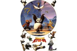Съедобная картинка Панда Кунг-Фу №2