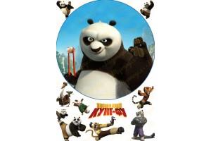 Съедобная картинка Панда Кунг-Фу №8