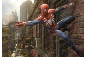 Съедобная картинка Человек Паук Spider man №17