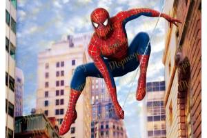 Съедобная картинка Человек Паук Spider man №11