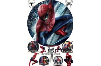 Съедобная картинка Человек Паук Spider man №2