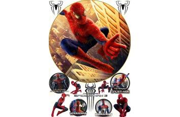 Съедобная картинка Человек Паук Spider man №3