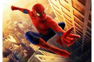 Съедобная картинка Человек Паук Spider man №8