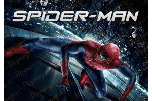 Съедобная картинка Человек Паук Spider man №9