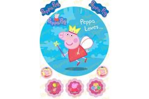 Съедобная картинка Свинка Пепа №15
