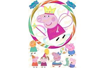 Съедобная картинка Свинка Пепа №10