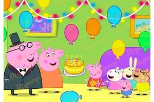 Съедобная картинка Свинка Пепа №11
