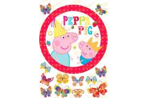 Съедобная картинка Свинка Пепа №13