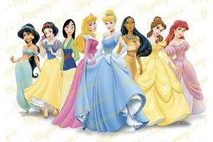 Съедобная картинка Принцессы Диснея №10
