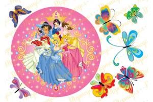 Съедобная картинка Принцессы Диснея №13