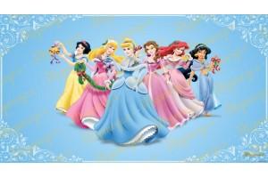 Съедобная картинка Принцессы Диснея №14