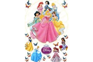 Съедобная картинка Принцессы Диснея №5