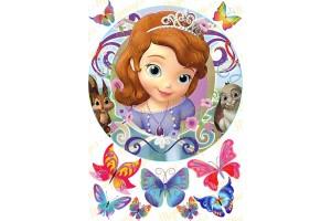 Съедобная картинка Принцесса София №9